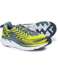 Hoka One One Clifton 4 Running Sneaker - Blue
