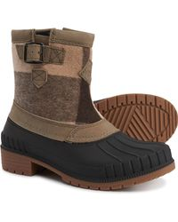 Kamik Avelle Duck Boots - Brown