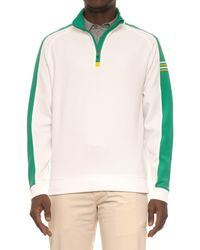 Bobby Jones Xh20 Tech Color-block Pullover Shirt - White