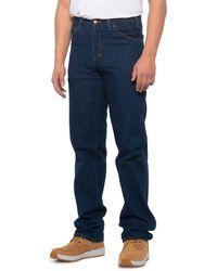 Dickies Five-pocket Work Jeans - Blue
