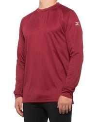 Mizuno Comp Baseball Training Shirt - Red