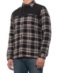 Frye Quilted Dean Shirt -long Sleeve - Multicolor