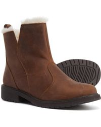 EMU Barrow Ankle Boots - Brown