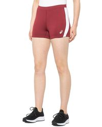 Asics Chaser Shorts - Red