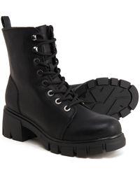 MIA Yoana Combat Boots - Black