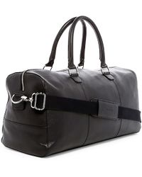 Cole Haan Weekend Leather 22l Duffel Bag (for Women) - Black