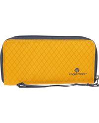 Eagle Creek Rfid Wristlet Wallet - Yellow