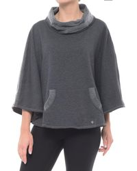 Nux Emma Poncho (for Women) - Gray