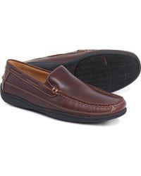 Johnston & Murphy Fowler Venetian Loafers - Brown