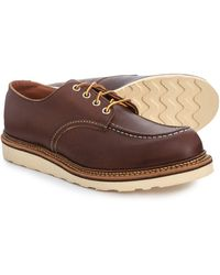 Red Wing Mahogany Classic Oxford Shoe - Brown
