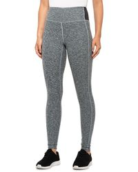 New Balance Core Space-dye Leggings - Gray