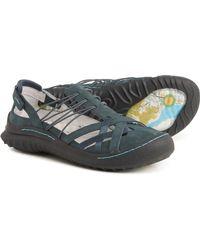 Jambu Chestnut Mary Jane Shoes - Blue