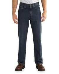 Carhartt Relaxed Fit 5-pocket Jean - Blue
