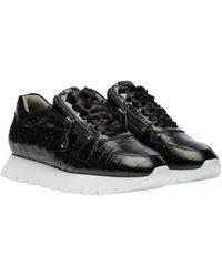 Kennel & Schmenger Sneaker aus Leder - Schwarz