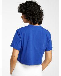 Ellesse Logo Cropped Tee - Blue