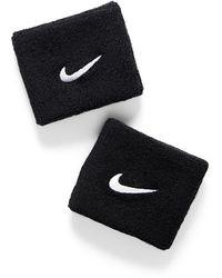 Nike Swoosh Armband Set Of 2 - Black