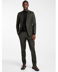 Tiger Of Sweden Officer Green Suit Slim Fit
