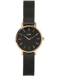 Cluse Boho Chic Small Watch - Black