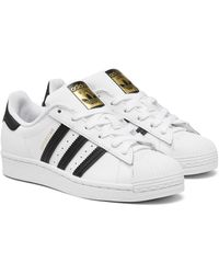adidas Originals Leather Women's Superstar Up Strap Casual ...