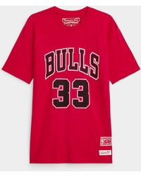 Mitchell & Ness Pippen 33 T - Red