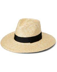 Brixton Joanna Panama Hat - Natural