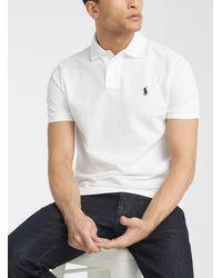 Polo Ralph Lauren - Embroidered Logo Piqué Polo - Lyst