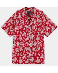Polo Ralph Lauren Hawaiian Teddy Bear Pyjama Shirt - Red