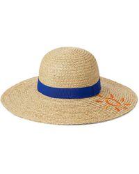 Paul Smith Summer Sun Hat - Blue