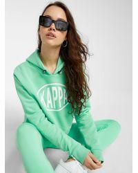 Kappa Mint Green Hoodie