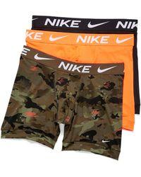 Nike Essential Micro Boxer Briefs 3 - Orange