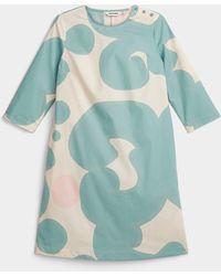 Marimekko Iltatori Keidas Dress - Blue