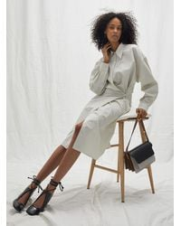 Lemaire Twisted Shirtdress - Natural