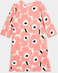 Marimekko Kauneus Unikko Dress - Pink