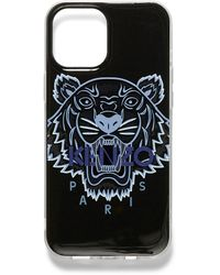 KENZO Tiger Case For Iphone 12 Pro Max - Black