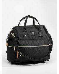 Anello Repreve* Convertible Backpack - Black