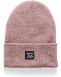 Herschel Supply Co. Abbott Monochrome Tuque - Pink