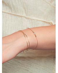 POPPY FINCH Double Chain Bracelet - Multicolor