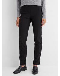 Lisette L Refined Stretch Pants - Black