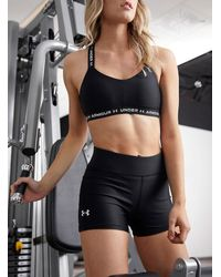 Under Armour Armor 3-inch Compression Short (women, Black, Large)