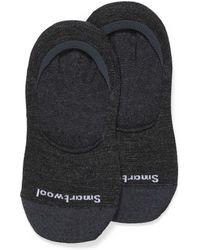 Smartwool Merino Wool Foot Liner - Black
