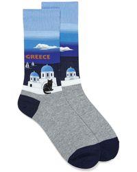 Hot Sox - Greek Island Socks - Lyst