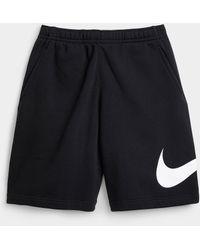 Nike Swoosh Sweat Short - Black
