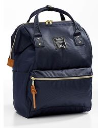 Anello Signature Backpack - Blue