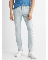 Only & Sons Light Blue Bleached Jean Slim Fit