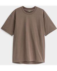 Reigning Champ Medium-weight Cotton T-shirt (men, Brown, Large)