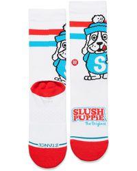 Stance Slush Puppie Socks - White