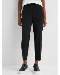 Inwear Adial Fluid Elastic Waist Pant - Black