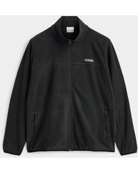 Columbia Light Fleece Zip Jacket Plus Size - Black