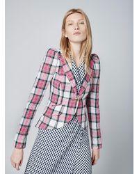 Smythe Retro Sleeve Jacket - Pink