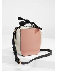 Marni Gusset Mini Bucket Bag - Multicolor